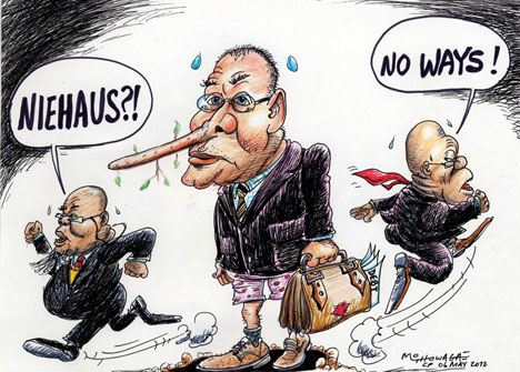 'Niehaus Wants Back': Africartoons.com