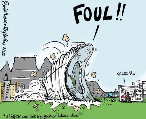 'Cape Town Snubbed as Afcon Host': Africartoons.com