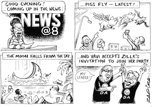 'News of the Absurd ': Africartoons.com