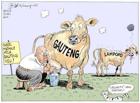 'Milking the System': Africartoons.com