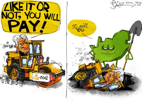 'Nazir Payed in the End': Africartoons.com