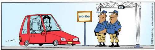 'First e-Tolls, Now...': Africartoons.com