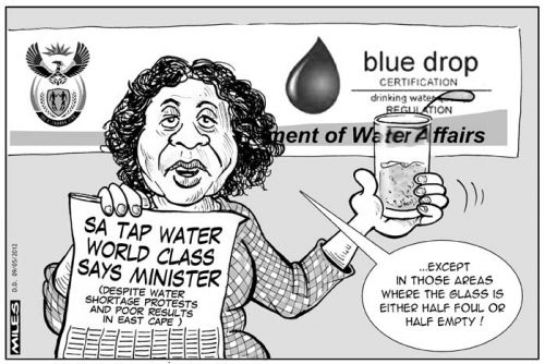 'Water Water Everywhere...': Africartoons.com