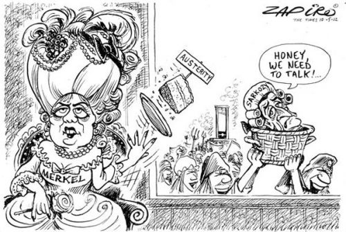 'Sarkozy Loses His Head': Africartoons.com