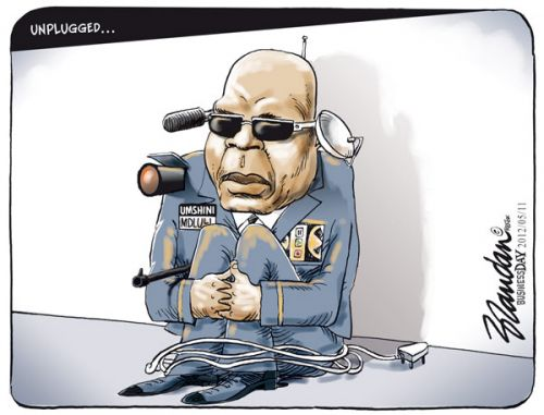 'Mdluli Unplugged': Africartoons.com