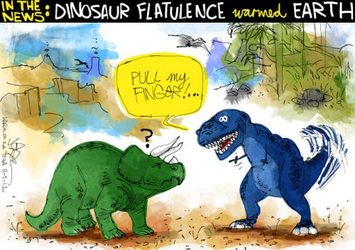 'Dinofartus ': Africartoons.com