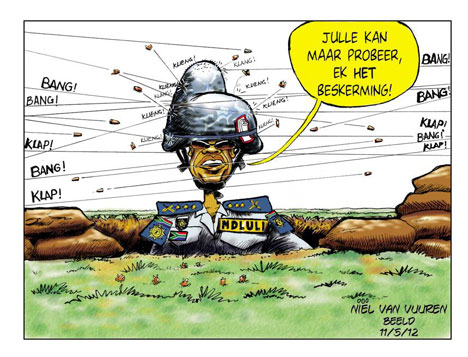 'Bullet Proof': Africartoons.com