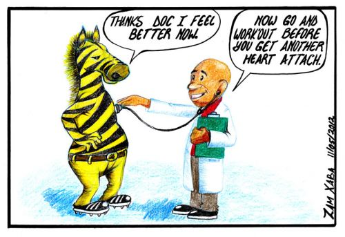 'On Doctor's Orders': Africartoons.com