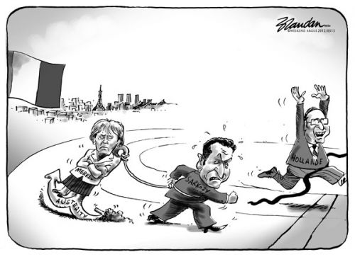 'Anchored by Austerity': Africartoons.com