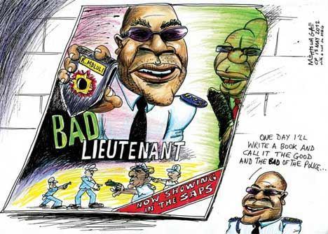 'Bad Cop, Bad Cop': Africartoons.com