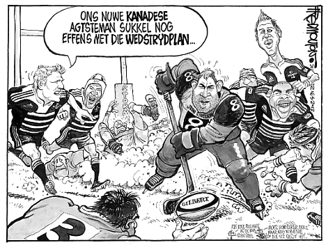 'Stormers Go Canadian': Africartoons.com