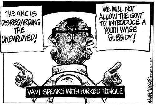 'Two Faced Vavi ': Africartoons.com