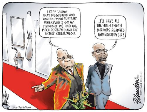 'Zuma Unsheathed': Africartoons.com