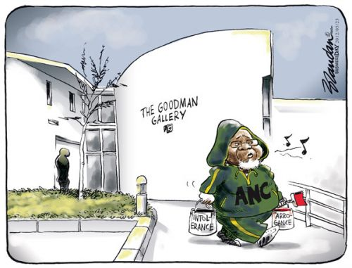 'The Vandal of Artistic Expression': Africartoons.com