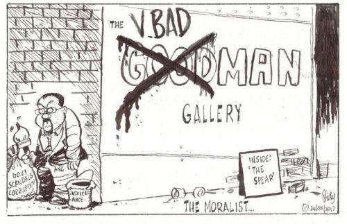 'The Moralist': Africartoons.com