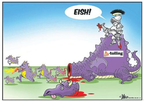'The Dragon that Would Not Die': Africartoons.com