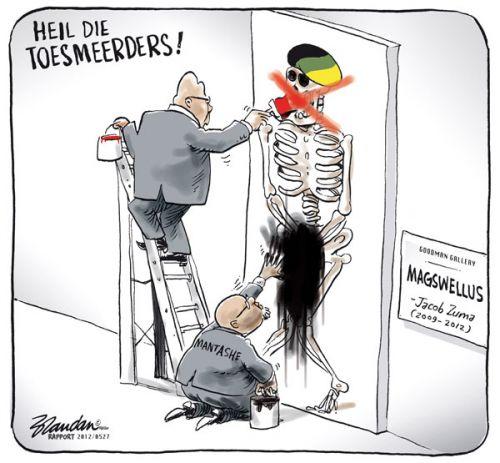 'Smear Tactics of the ANC': Africartoons.com