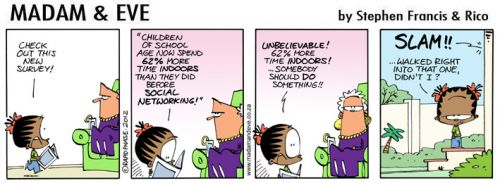 'Facebook Kids': Africartoons.com