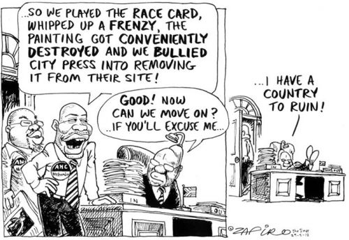 'Intimidation Rules': Africartoons.com