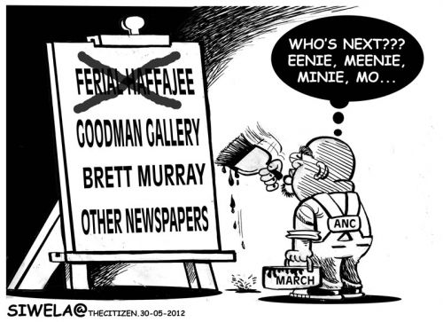 'Targeting Expression': Africartoons.com