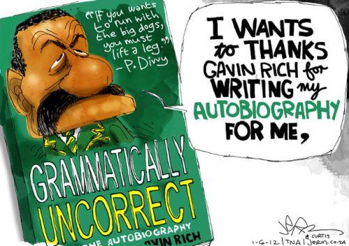 'Div Writes Some Wrongs': Africartoons.com