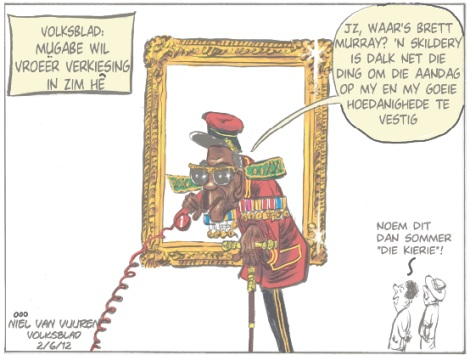 'The Kierie': Africartoons.com