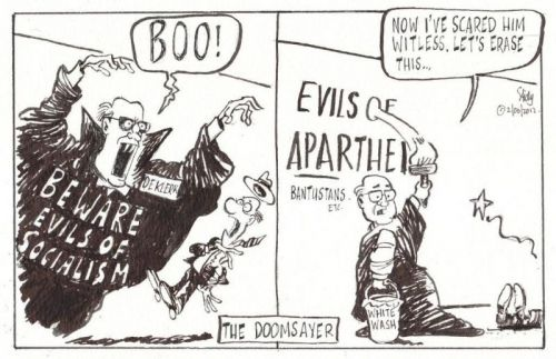 'FW Then and Now': Africartoons.com