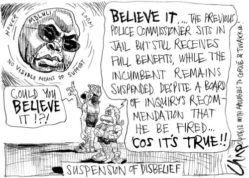 'Suspended Belief': Africartoons.com