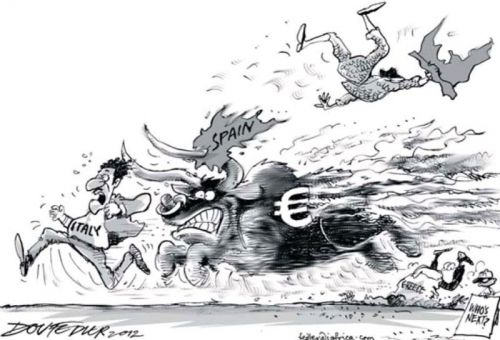 'Running of the Bull****': Africartoons.com