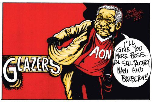 'Ferguson Speared': Africartoons.com