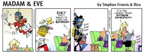 'Eve takes it to the Extreme': Africartoons.com