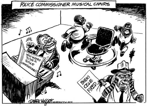 'Musical Chairs': Africartoons.com