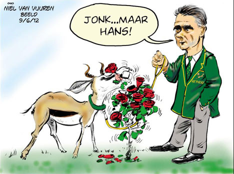 'Young and Ready Boks': Africartoons.com
