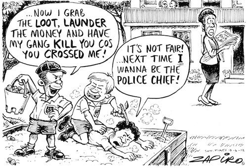 'Sandpit Justice ': Africartoons.com