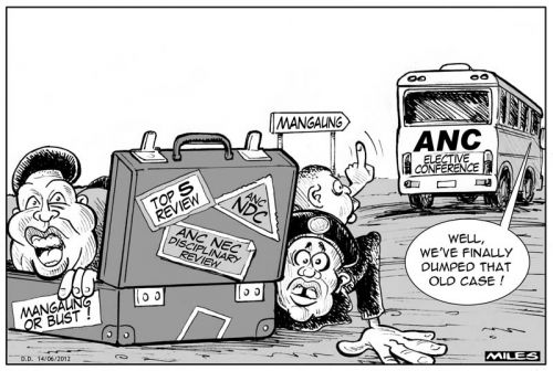'Off the Bus': Africartoons.com
