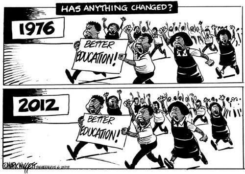 'What's Changed Since '76?': Africartoons.com