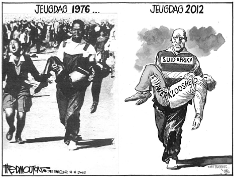 'Youth Day Then and Now': Africartoons.com