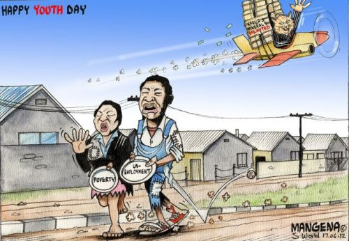 'Stealing from the Youth': Africartoons.com