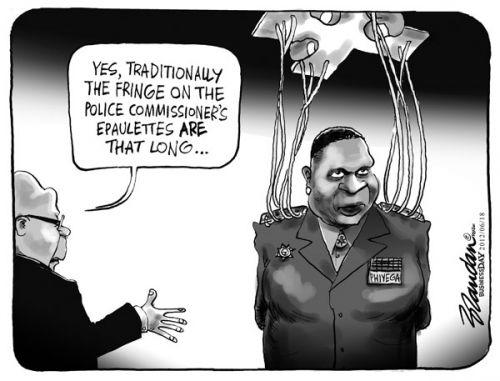 'With Strings Attached': Africartoons.com