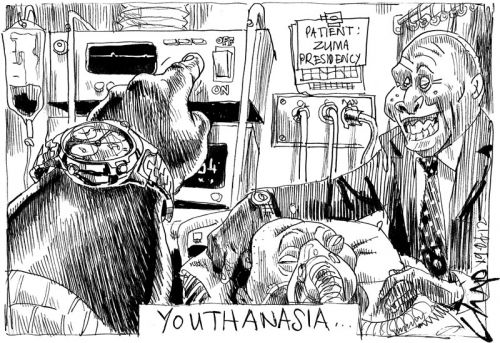 'Youthenasia': Africartoons.com