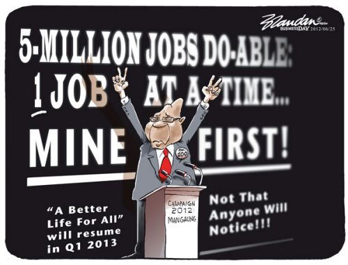 'One Job at a Time': Africartoons.com