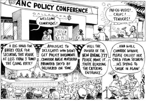 'ANC Policy Conference': Africartoons.com