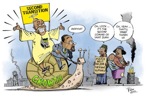 'The Second Transition of the Zumassiah ': Africartoons.com