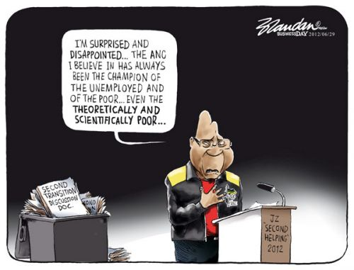 'Handling Rejection': Africartoons.com