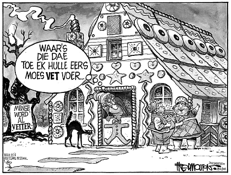 'Hansel and Gretel': Africartoons.com