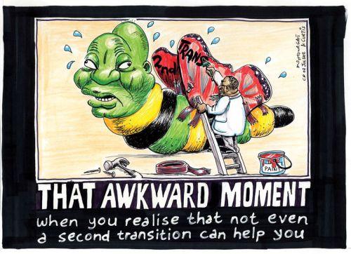 'That Awkward Moment...': Africartoons.com