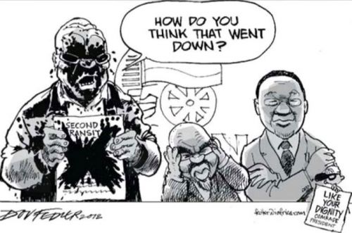 'Mud on their Faces': Africartoons.com