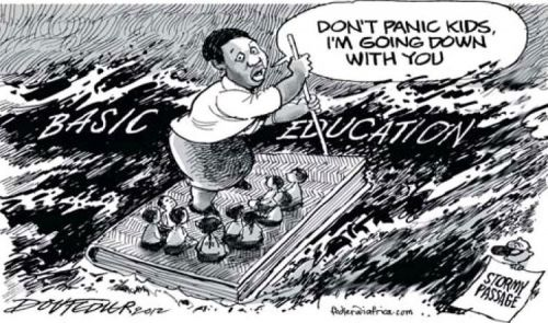 'Angie's All at Sea': Africartoons.com
