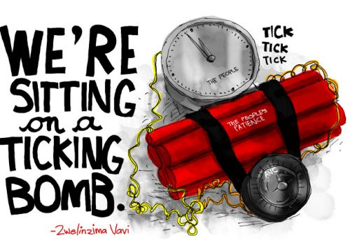 'Time Bomb': Africartoons.com
