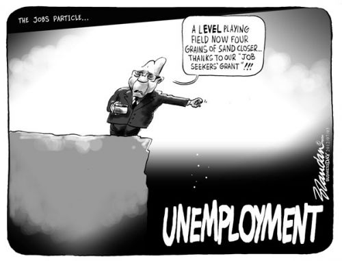 'The Job Particle ': Africartoons.com